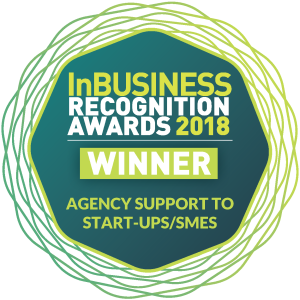 InBusiness Recognition awards 2018 Agency Support to Startups SMES skillnet ireland